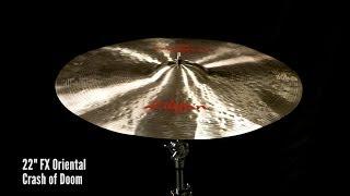 "Zildjian Sound Lab: 22"" FX Oriental Crash of Doom"