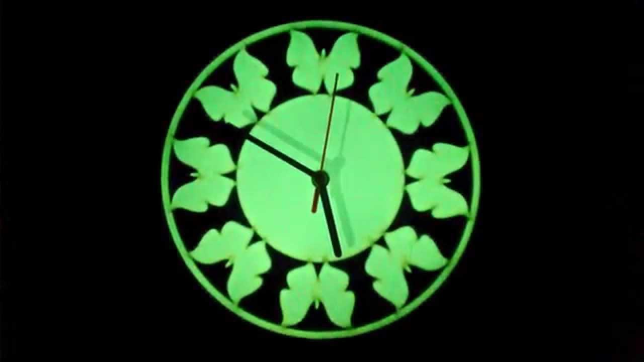 Настенные часы Jclock - YouTube