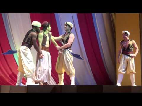 Video #17 of Aladdin A Musical Spectacular at Disney California Adventure (Recorded on 1-19-14)