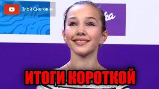 ИТОГИ КОРОТКОЙ ПРОГРАММЫ Женщины Чемпионат России по Фигурному Катанию 2021