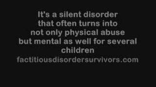 Munchausen Syndrome  factitiousdisordersurvivors.com