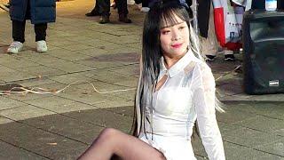 20200216 홍대 버스킹 공연 스타후르츠 다미 레전…