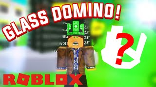 HOW TO GET A FREE GLASS DOMINO CROWN | Roblox Case Clicker
