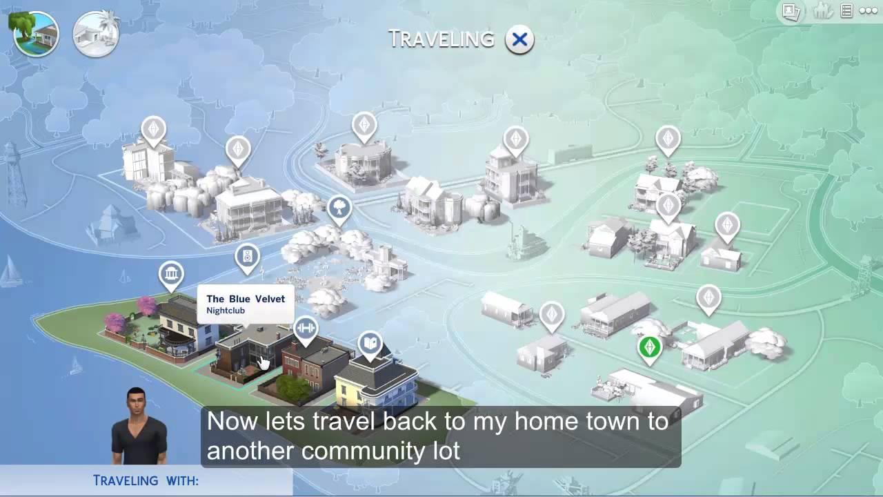 The Sims 4 Travel Crash fixed. - YouTube