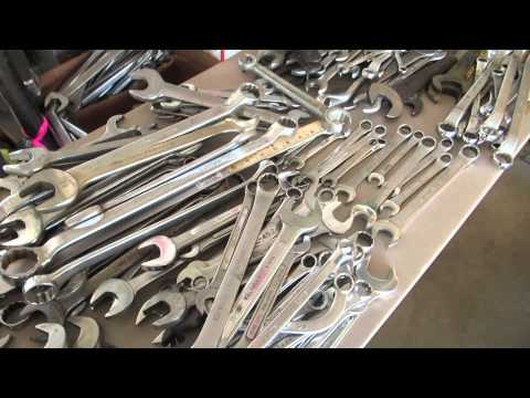 Reselling Wrenches/Tools/Etc. from a Government Surplus Auction