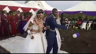 Amazing video: Man marries two wives at a go in Kajiado!