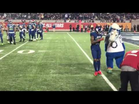 Oddell beckham jr vs colts mascot