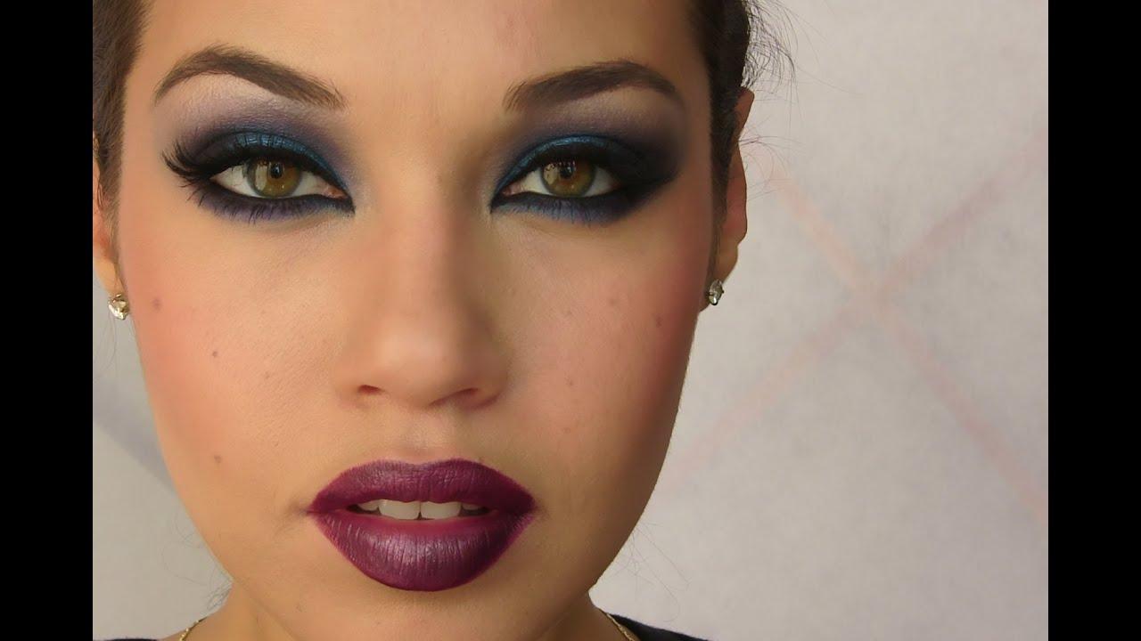 Rihanna Blue Smoky Eye Eman Youtube