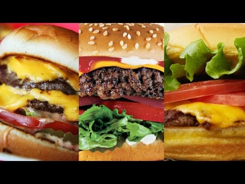 Top 10 Fast Food Hamburgers