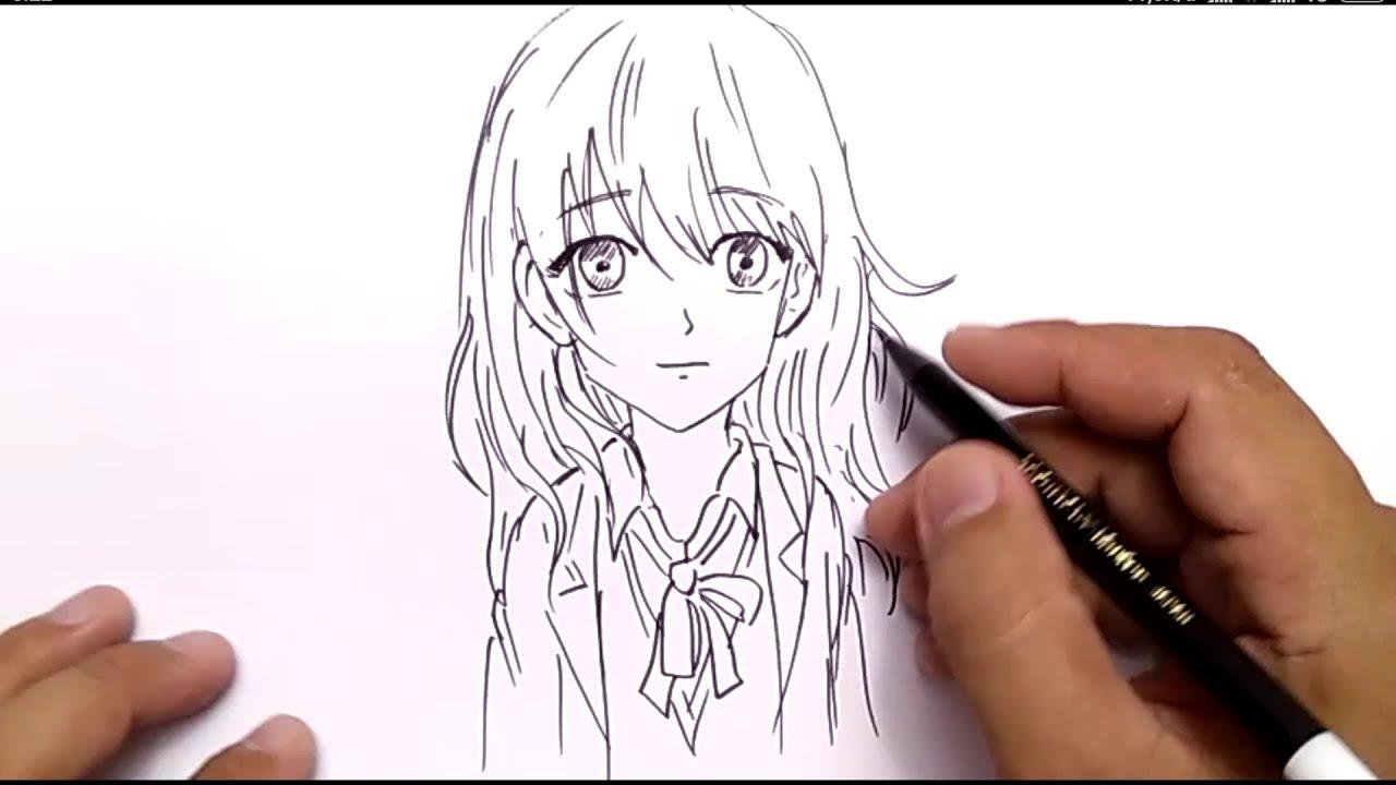 98 Gambar Anime Keren Dan Mudah Digambar HD
