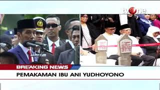 Sambutan Presiden Jokowi Pada Pemakaman Ibu Negara Ani Yudhoyono (2/6/2019)