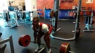 Становая тяга 200 кг на 8 раз
