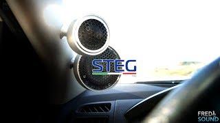 HIGH-END 3 WAY OPTICAL ACTIVE CAR AUDIO STEG RE 65C, SG30, SQ32 4K