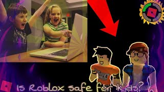 Blox Theories:is Roblox Really safe for kids? Roblox Discussion!!