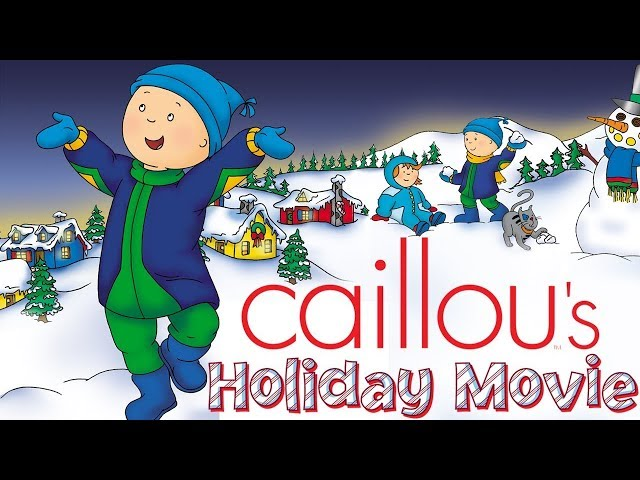 🔴 LIVE - Caillou's Holiday Movie - Full Version | Funny animated