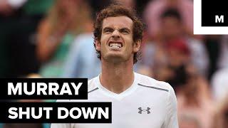 Andy Murray shuts down reporter