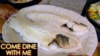 Salt Crusted Sea Bass Fails To Impress! | Come Dine With Me