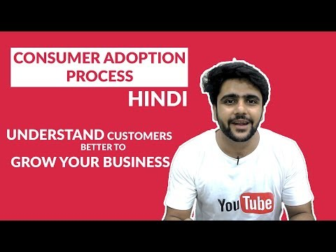 Consumer Adoption Process - Marketing-MBA Topic- Understand your customer to grow your business