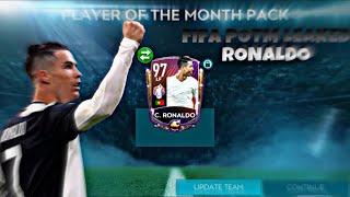 LAST POTM IS HERE!! LEAKED 97 OVR CRISTIANO RONALDO!! FIFA MOBILE 20!!