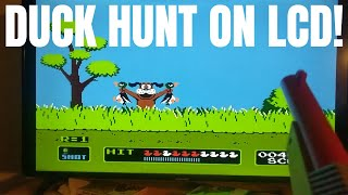 Get Duck Hunt to Work on a Flat Screen TV