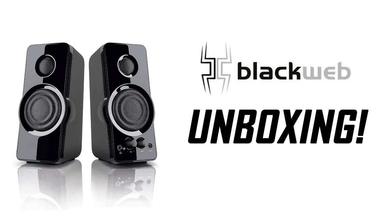 Blackweb Multimedia PC Speaker Unboxing - YouTube