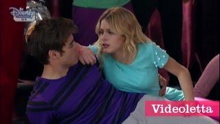 Violetta 3 English: Ludmila pushes Violetta Ep.12