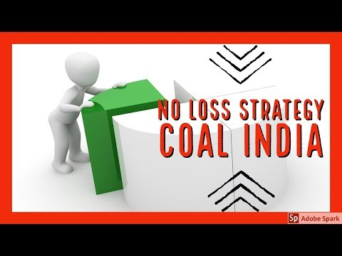 No Loss COAL INDIA Strategy