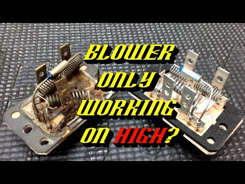 Ford Quick Tips #68: Blower Motor Resistor Failures- Testing and Inspection