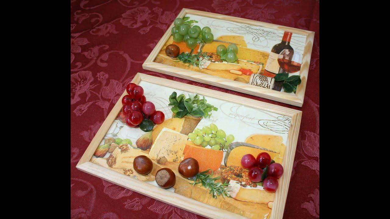 Мастер-класс по созданию объемного панно для кухни