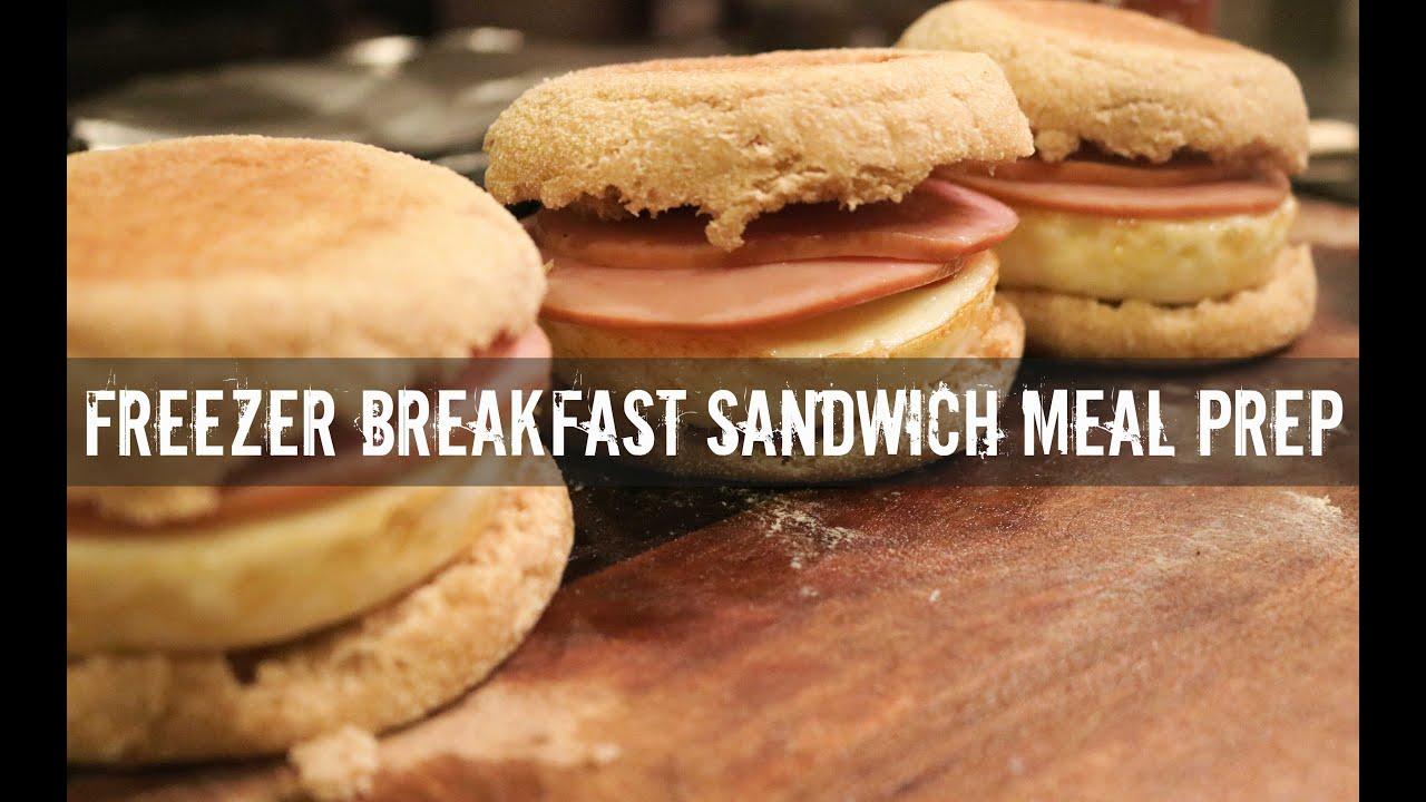 Freezer Breakfast Sandwich Meal Prep- Gauge Girl Training ...