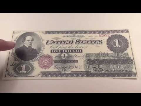 "1862 $1 United States Note ""Greenback"""