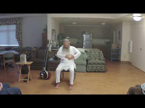 Chair Yoga: Abhyaṅga (C) 6 – Self-Massage Therapy