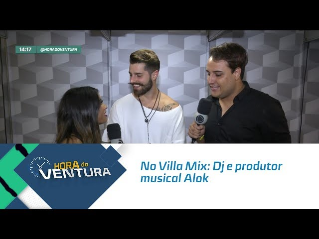 No Villa Mix: Dj e produtor musical Alok- Bloco 01