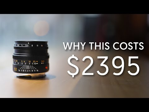 Why It's Expensive - Tiny Leica 50mm Lens! - Leica Summicron-M 50mm F2 (Ep. 10)