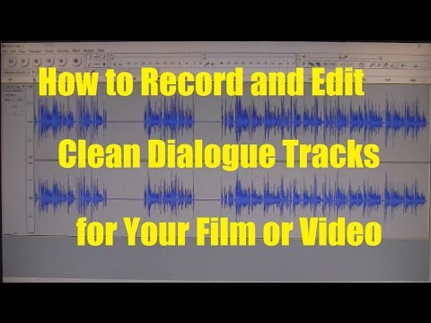 How To Remove Noise from Recorded Dialogue (Dialog), Use a Noise gate and Add Room Tone