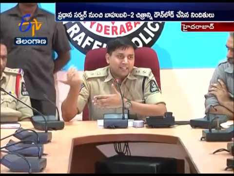 Bahubali 2 | Police Arrests Piracy Makers | Hyderabad