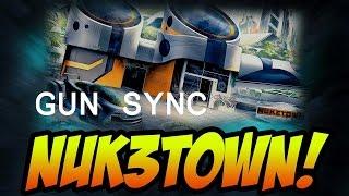 My first GUN SYNC! : BO3 NUK3TOWN