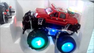 Monster truck a control remoto con luces y mp3