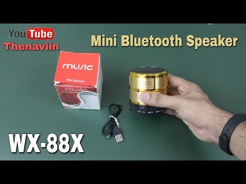 Mini Bluetooth Speaker WX-88X Unboxing And Full Review   Hands-On  Thenaviin