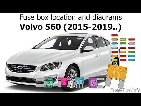 [FPER_4992]  Fuse box location and diagrams: Volvo S60 (2015-2019..) - YouTube | Volvo S60 Trunk Fuse Box Diagram |  | YouTube