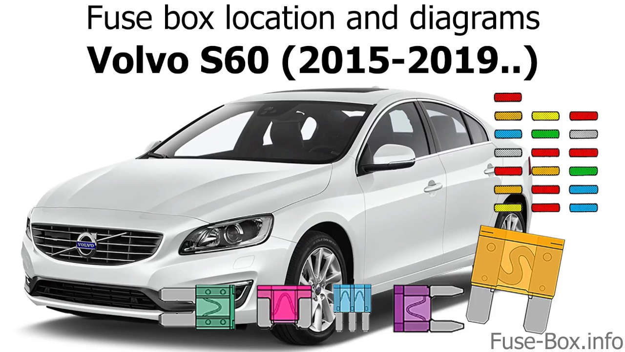 medium resolution of fuse box location and diagrams volvo s60 2015 2019 youtube 2014 volvo s60 fuse diagram