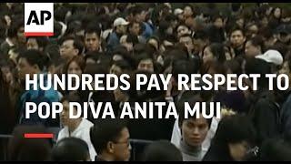 Video Hunderds pay respect to pop diva Anita Mui download MP3, 3GP, MP4, WEBM, AVI, FLV Agustus 2018