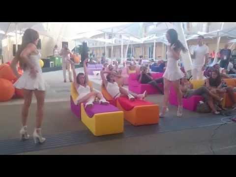 Sexy Dance in Expo 2015 Slovenia upskirt thumbnail