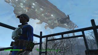 Fallout 4 Дирижабль братства Стали