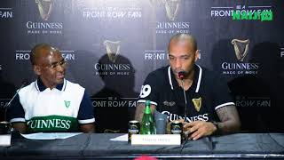Arsenal legend Thierry Henry visits Nigeria, speaks about Kanu, Keshi, Ikpeba