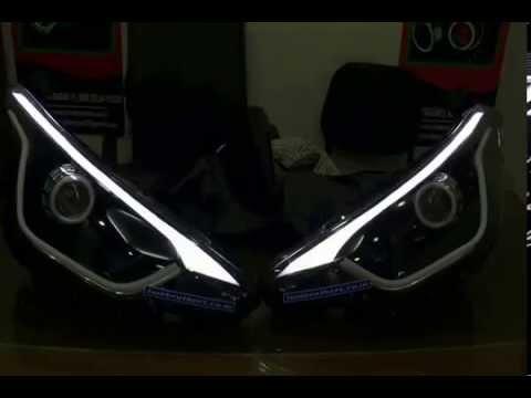 Hyundai Elite I20 Projectors Amp Eagle Eyes Amp Drl If Youtube