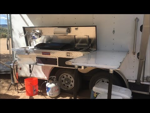 Camping Kitchen, Cargo Trailer Conversion, Truck Box Kitchen