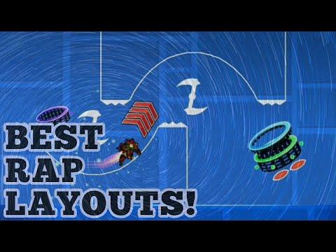 BEST RAP LAYOUTS! GEOMETRY DASH 2.11