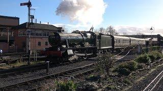 """Santa Trains"" Kidderminster 09/12/18 part 1"