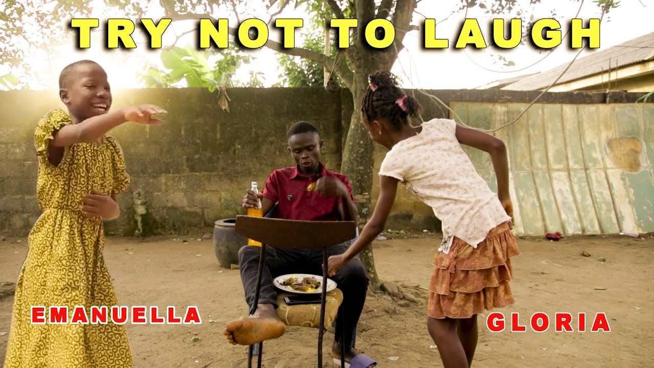 TRY NOT TO LAUGH - EMANUELLA & GLORIA (Mark Angel Comedy) (Mind Of Freeky Comedy)